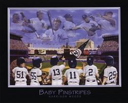Baby Pinstripes - 6 NY Yankees