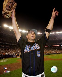 David Wright - 2006 Celebrates NL East Title