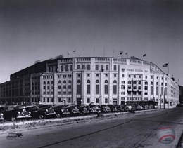 Yankee Stadium - 1950 Outside