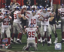 New York Giants Team Celebration SuperBowl XLII 2007 Action #16