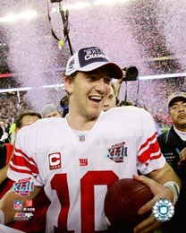 Eli Manning SuperBowl XLII 2007 Celebration #18