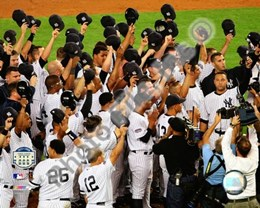 The New York Yankees Salute the Crowd after the Final Game at Yankee Stadium 2008