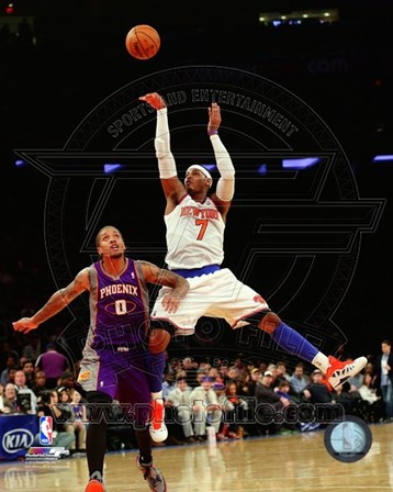 Carmelo Anthony 2012-13 Action art print