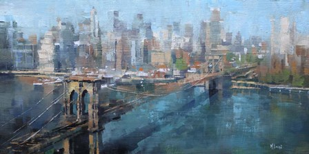Brooklyn Bridge by Mark Lague art print