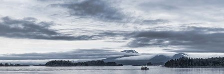 Fishing Boat and Mt Edgecumbe, Sitka, Southeast Alaska by Panoramic Images art print